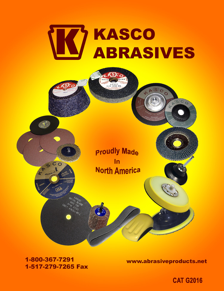 Kasco Abrasives Catalog 2016